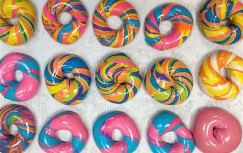 Rainbow Bagel Fun