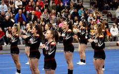 Cheerleading Places Fourth at the State Competition