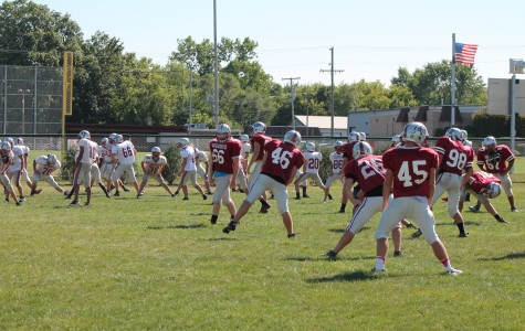 Football Team Adjusts to Rule Changes