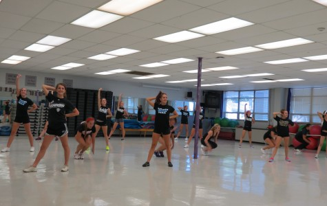 Alumni Return to Coach Varsity, JV Dance Teams
