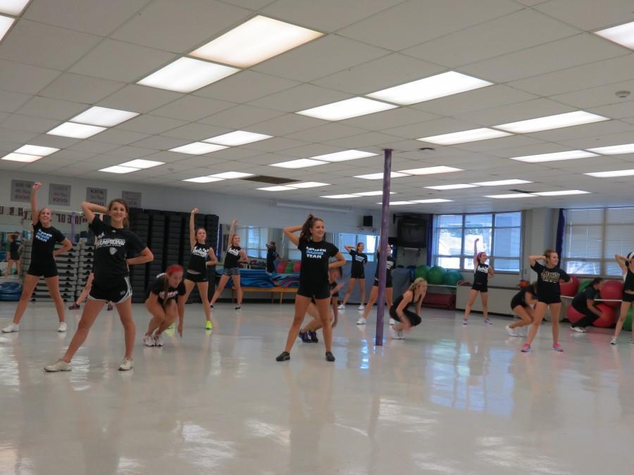 Alumni Return to Coach Varsity, JV Dance Teams