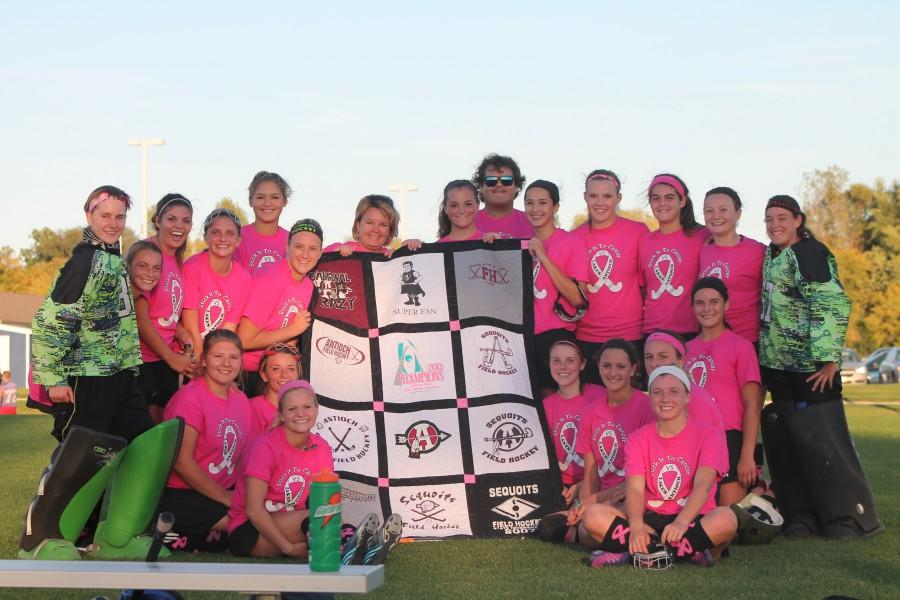 BRIEF: Field Hockey's Stick It to Cancer Game