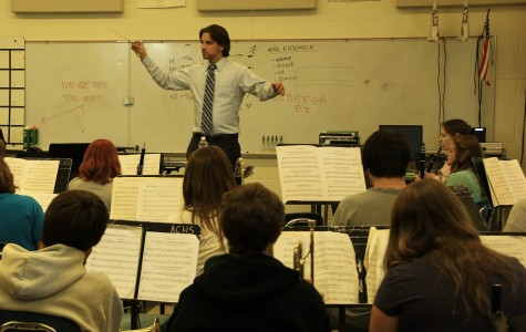 ACHS Fine Arts Department Welcomes New Band Director