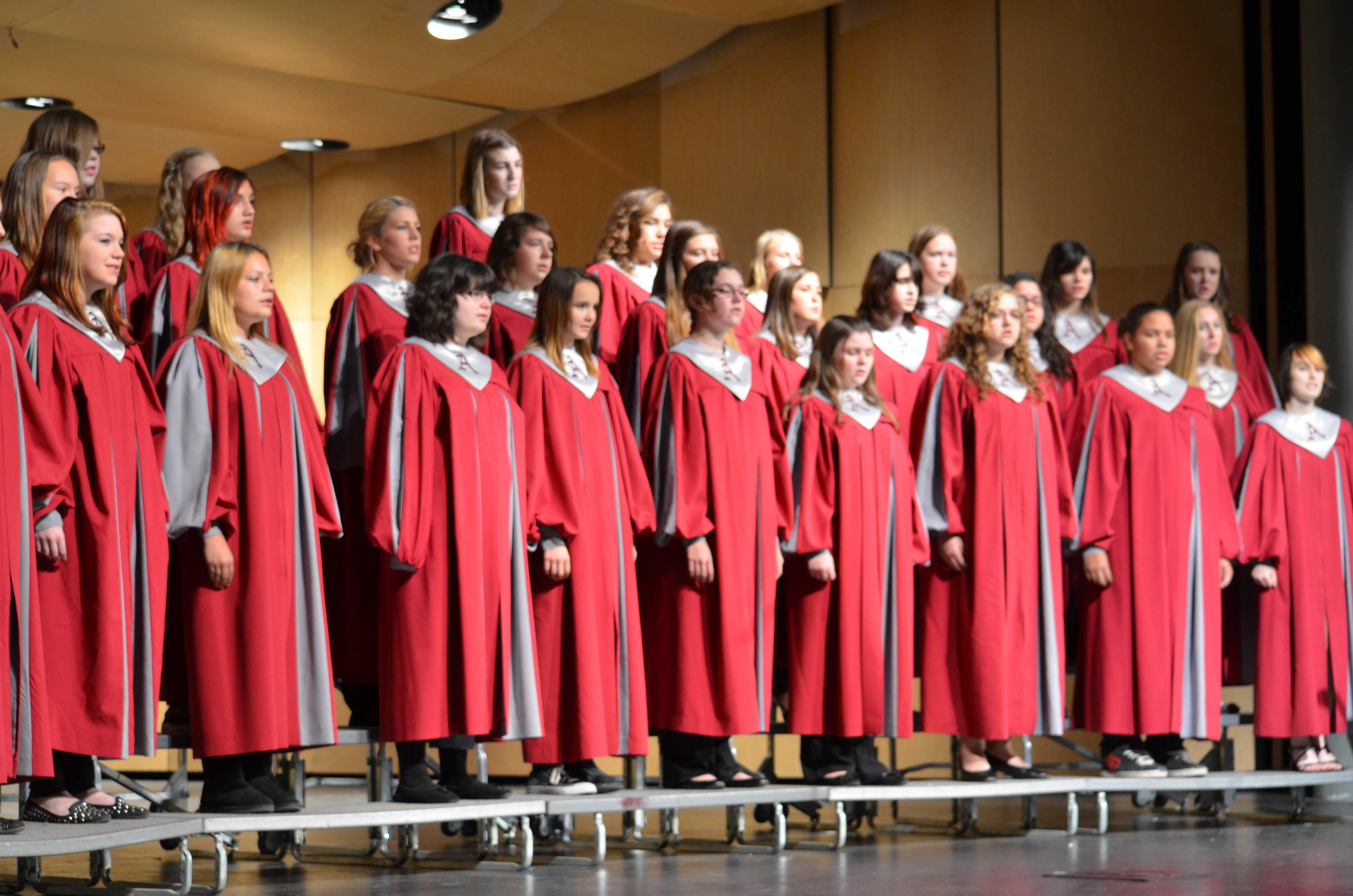 Choir Concert Ends on a Good Note