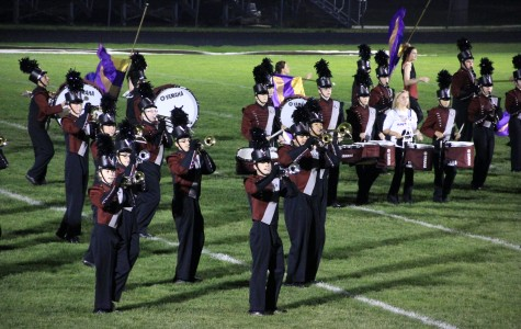 Marching Band Stays Busy in October