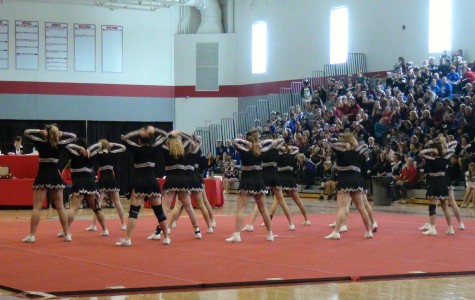 Cheerleading Takes Second in Conference