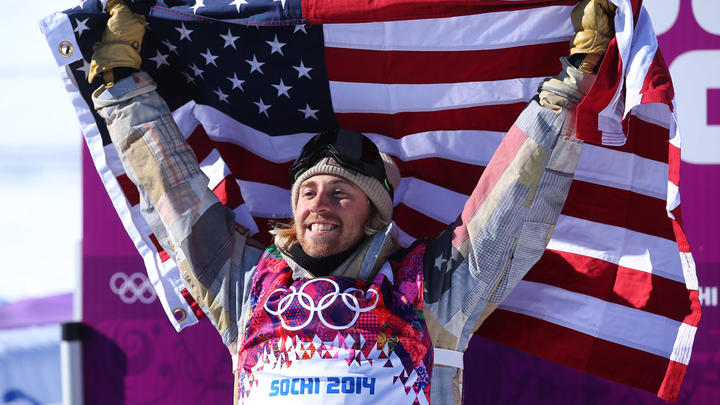 Sage+Kotsenburg+celebrates+after+winning+gold
