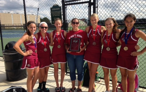 Girls Tennis Takes First at Niles West