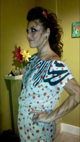 DIY tiger costume courtesy of Jennifer Staten.