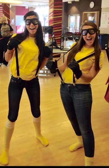 DIY Minion costumes courtesy of Karissa Wennstrom.  sc 1 st  Sequoit Media : minion homemade costume  - Germanpascual.Com