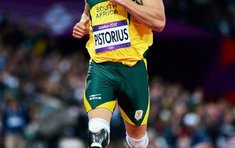Pistorius representing South Africa in the Olympics