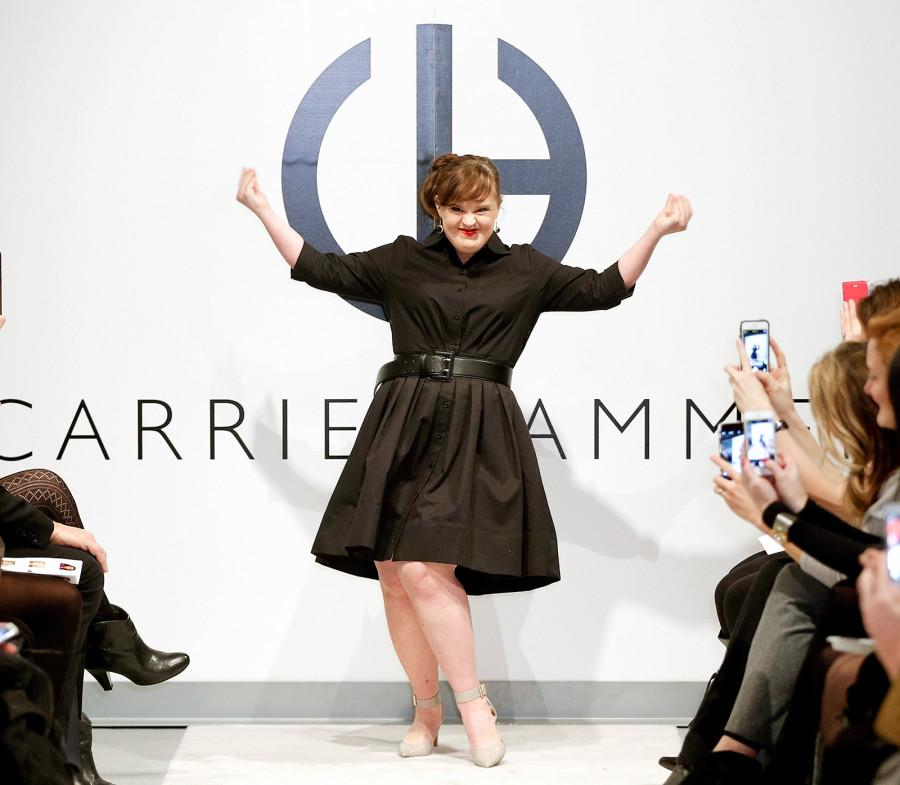"American Horror Story actress Jamie Brewer was the first ever down syndrome  model to walk in New York Fashion Week. She walked in designer Carrie  Hammar s "" ... d82dfd442"