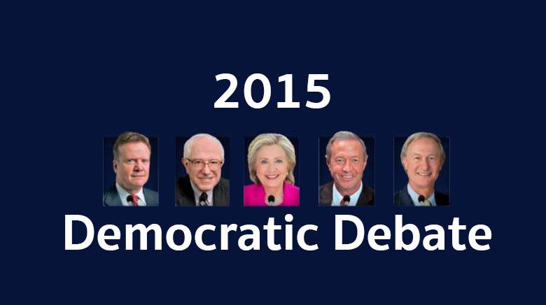 2015+Democratic+Debate