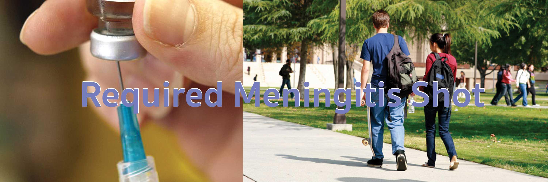 Required Meningitis Shot