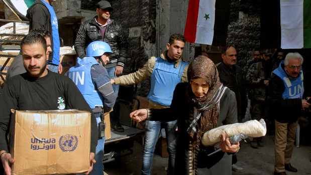 Syria Allows Assistance with Starvation Crisis