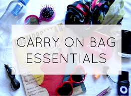 Travel Guide: Carry-On Essentials
