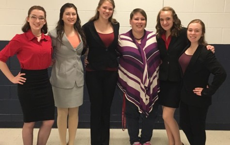 Speech Students Qualify to Nationals