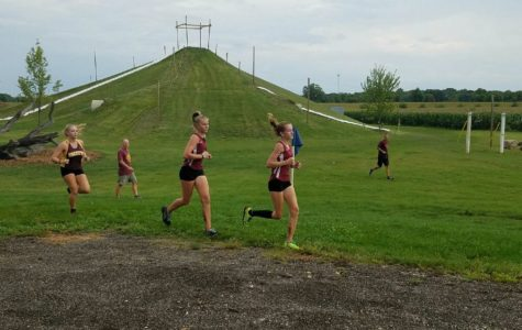 Girls Cross Country Finding Their Way