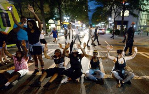 Protests continue in Charlotte, North Carolina