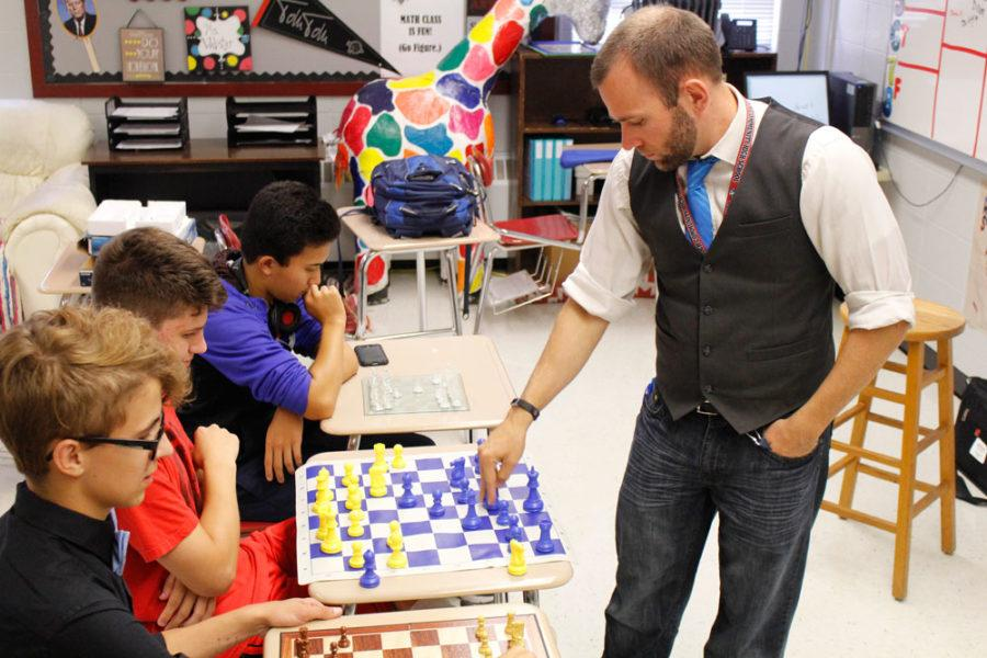 Antioch Students Prepare to Checkmate