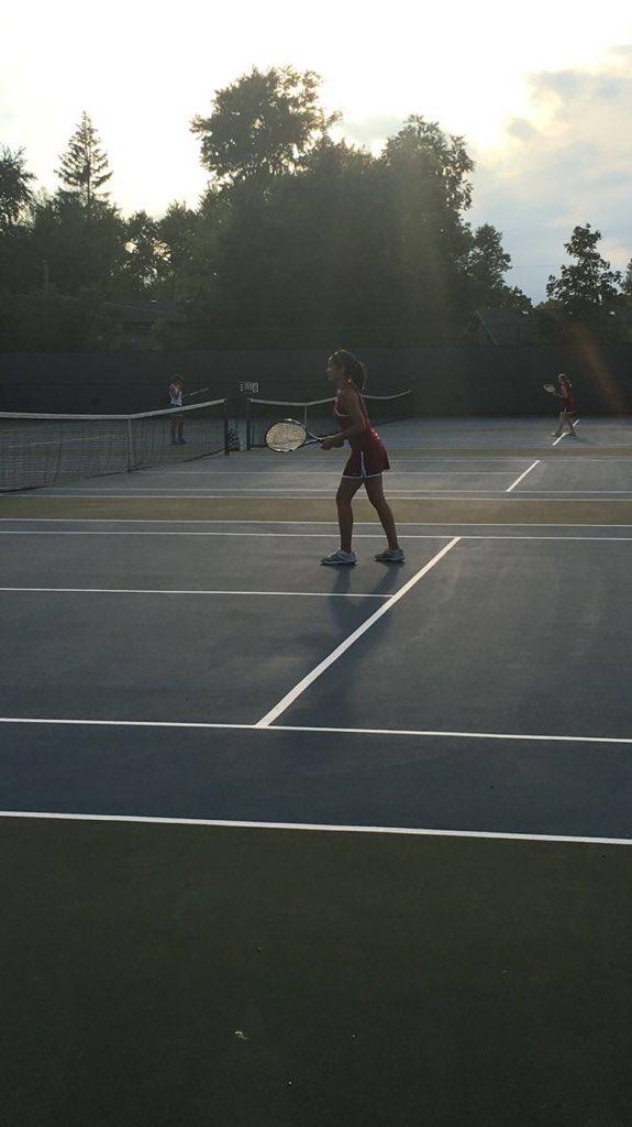 Senior Elizabeth Gardner swings strong in her final season.