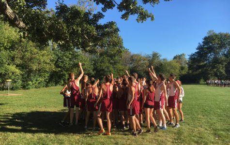 Girls Cross Country Gives Their All