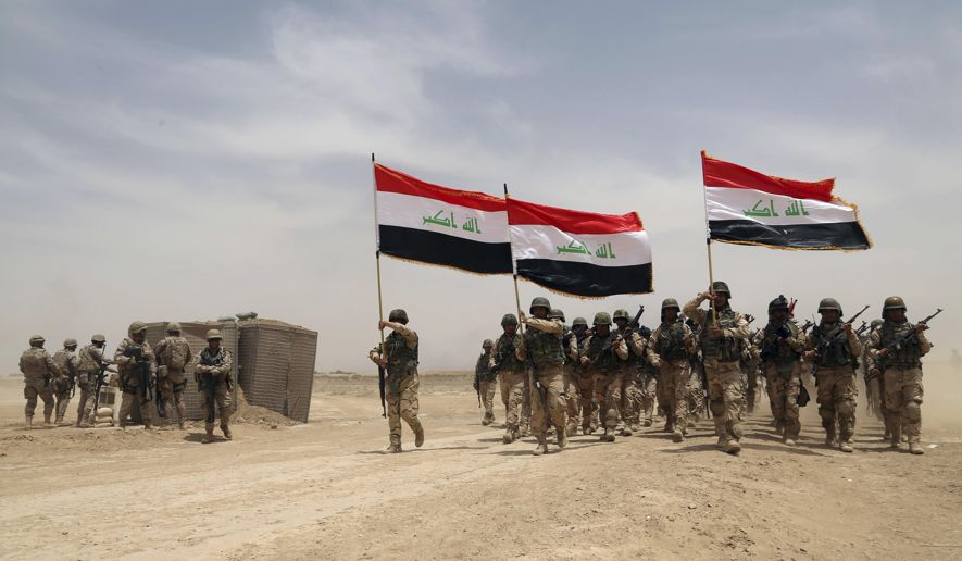 Iraq militant groups begin fight against ISIS to regain Mosul.