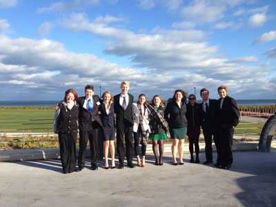 Several students from the Model U.N. club at ACHS participated in a 2-day competition event at Northwestern university on November 18 and 19.