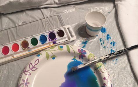 Do It Yourself: Making Watercolor Sweatshirts