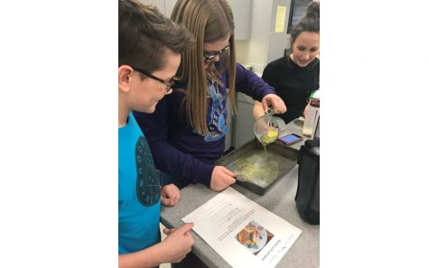 German Club students enjoyed their cooking party, making cultural dishes such as German Puff Pancakes.