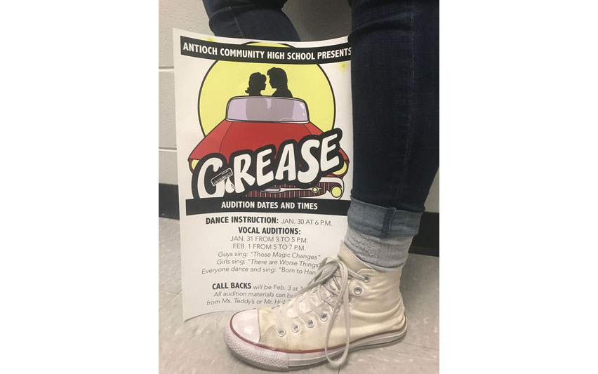 The+spring+musical+auditions+begin+Jan.+30+and+last+throughout+the+week.+Bring+your+dancing+shoes+and+singing+voice+for+a+chance+to+land+a+spot+in+Grease%21
