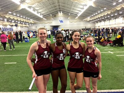 Track Travels to Kentucky
