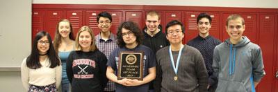 After a close win at the Northern Lake County Conference, the Sequoit Academic Team is excited to take their talents to the next competition.