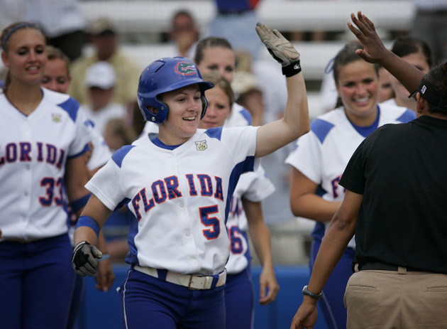 The Florida Gators took the top spot on the womens Division I softball polls.