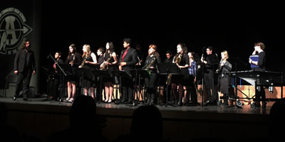 Jazz Ensembles Host Annual Concert