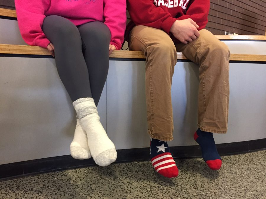 Donate socks and contribute to reaching the goal of 75 pairs of socks.