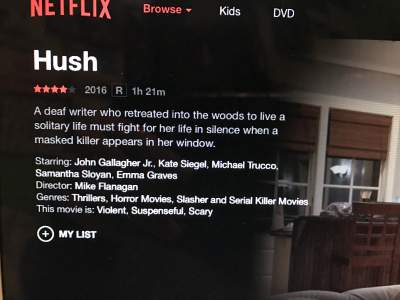 Movie Review: Hush