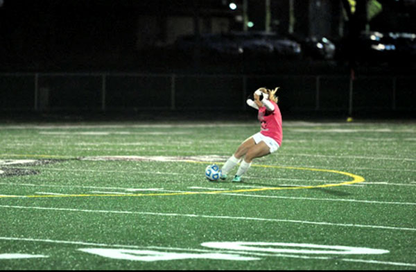 Junior Karly Monaco has been playing soccer her entire life and hopes to continue to do the same for the rest of her life.