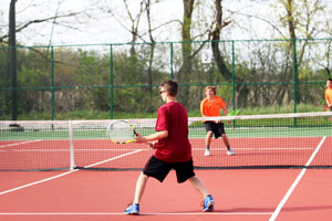 Both boys Tennis teams took a hard loss against McHenry high school.