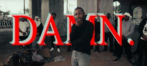 "Behind the Cover of Kendrick Lamar's New Album ""DAMN."""