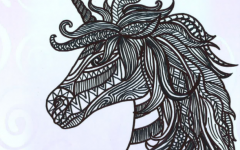 Weekly Coloring Page: Some Sharp Art