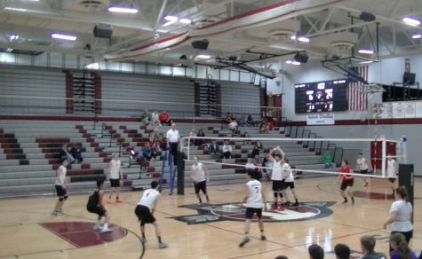 Volleyball is Back on Track With a Win