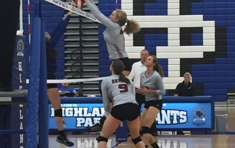 Volleyball Gets Out Played by the Giants