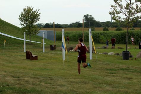 Girls Cross Country Defeats Richmond Burton