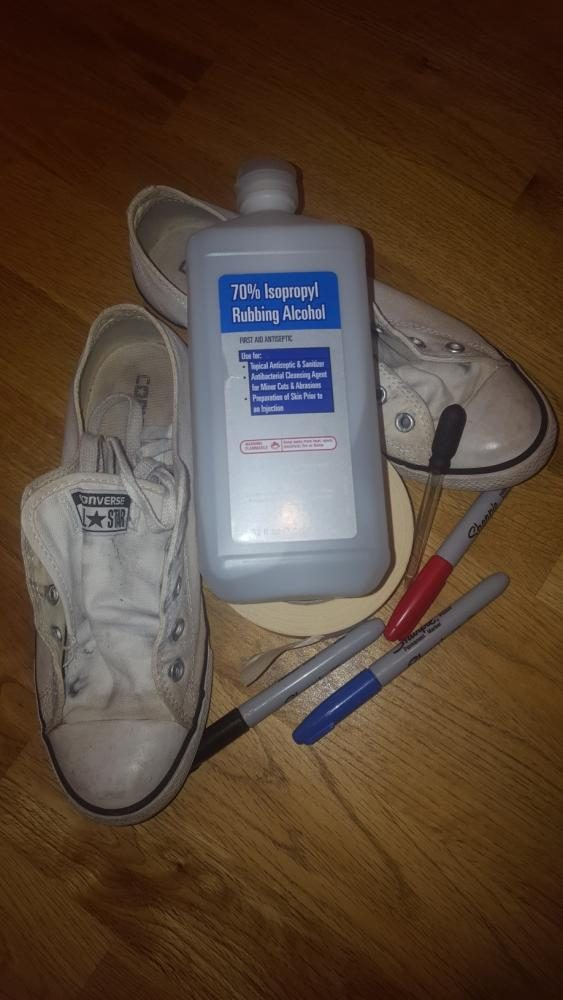 Do It Yourself: Watercolor Shoes