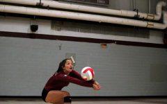 Girls Varsity Volleyball defeats the Larkin Royals