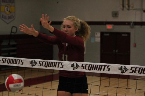 Girls Volleyball Comes up Short Against Jefferson High School
