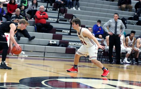Sequoits Basketball Plays Hard Against The Falcons