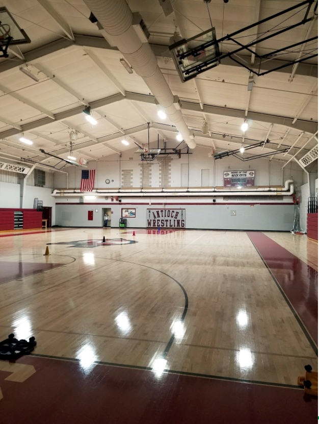 The newly renovated South Gym