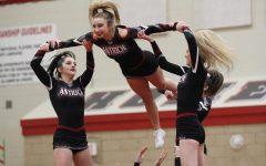 Varsity Cheer Takes 6th at Huntley